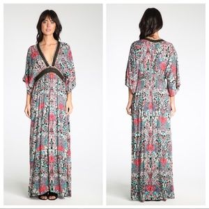 ✨euc | raga | botanic bliss plunge dress